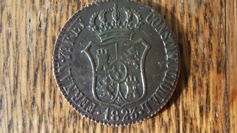 3 Quar Fernando VII Barcelona 1823 - 001