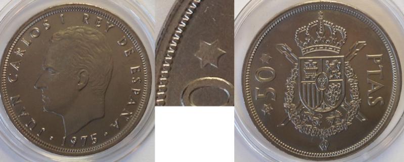 50 pesetas JuancarlosI
