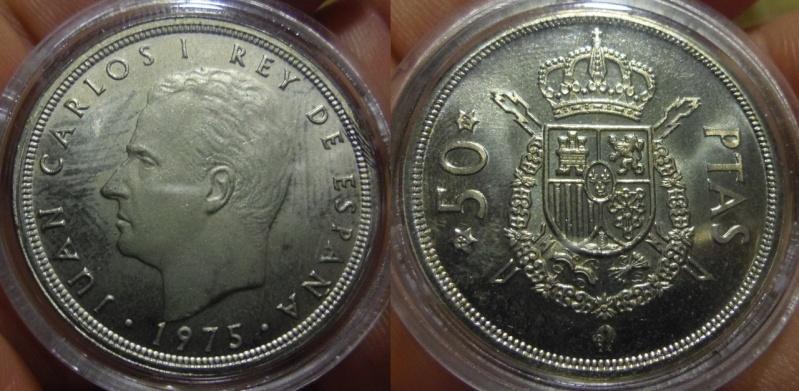 50 Pesetas. Juan Carlos I. Madrid. 1979. Acabado: ARM.