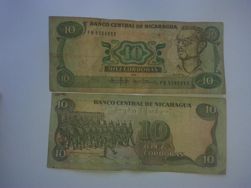10 cordobas 1985