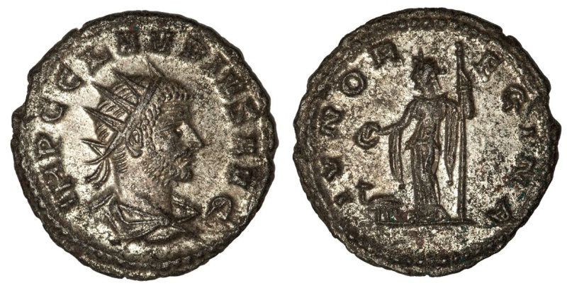 Antoniniano de Claudio II IVNO REGINA.