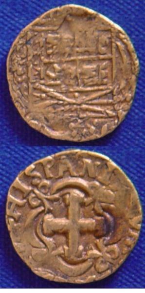 2 Escudos de Felipe V