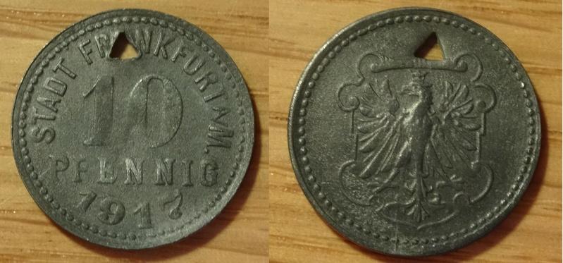 FRANKFURT - 10 Pfennig - 1917