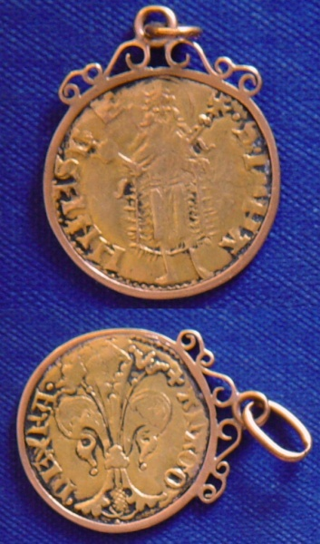 Florín de la corona de Aragón. PEDRO IV