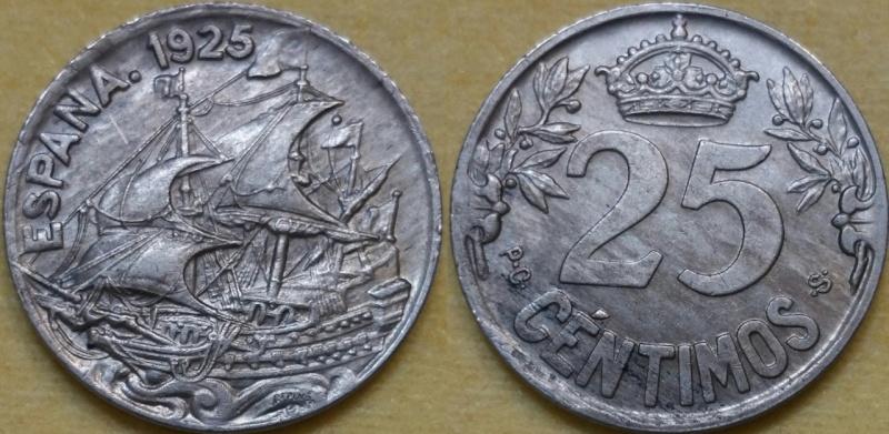 25 Céntimos Alfonso XIII 1925