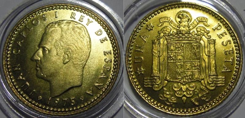 1 Peseta de Juan Carlos I, año 1975