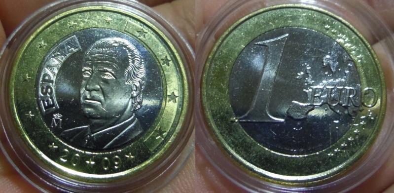 1 Euro de España. Año 2009