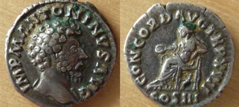 Denario Marco Aurelio
