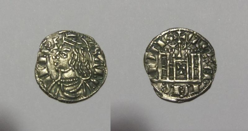 Cornado o Dinero Noven. Sancho IV de Castilla. Toledo. 1284-1295.