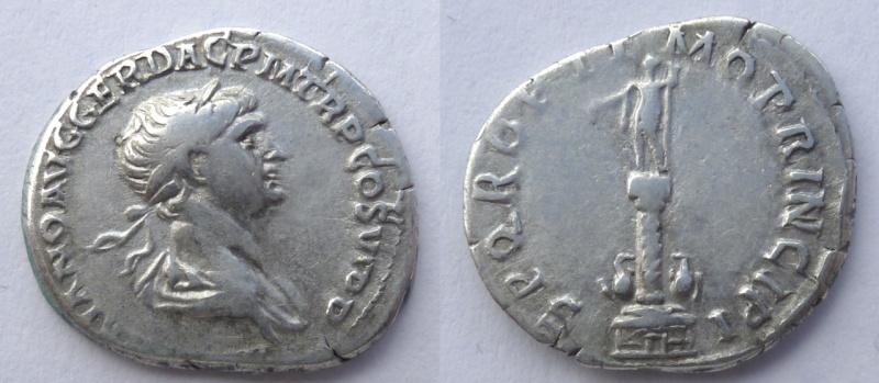 Denario Trajano (Columna Trajana)