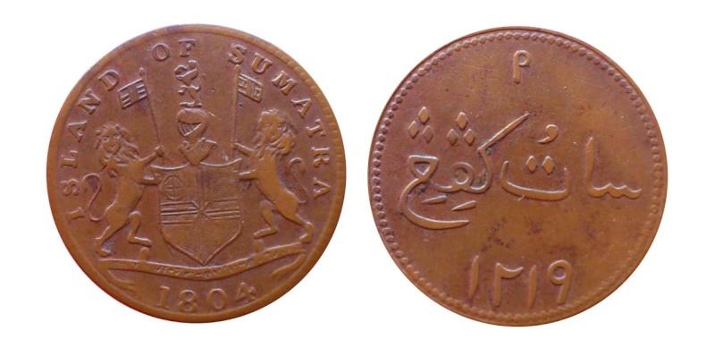 Holanda - Sumatra, 1 Keping de 1804