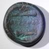 Bronce /Alejandro Magno, Macedonia 336 - 323 AC Anv:Cabeza de Heracles o Alejandro con tocado de piel de León. Rev: Mazo de Heracles(arriba), Arco y Carcaj (abajo) Al centro: Inscripción , ΑΛΕΞΑΝΔΡΟΥ , ALEJANDRO en griego.  16 mm./ 5.3 grs.