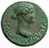 Monedas de Emperatrices Romanas Livia10