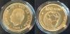 Moneda de oro conmemorativa de la FNMT de 100 euros, motivo: mundial de fútbol 2010