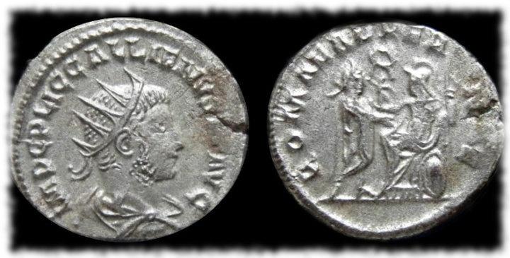 Antoniniano de Gallieno ROMAE AETERNAE.
