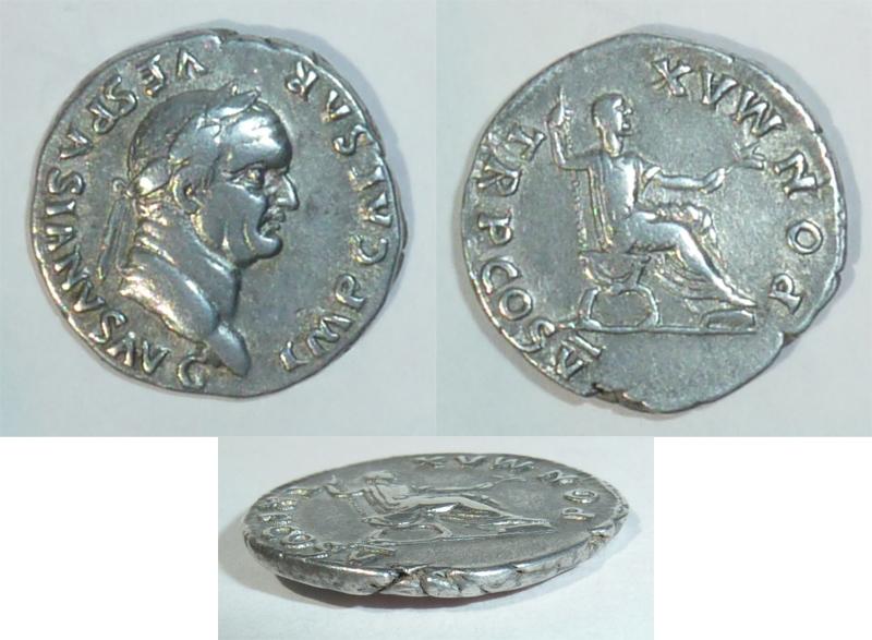 Denario Vespasiano