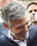George Clooney in print and on TV 1112-12