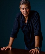 George Clooney in print and on TV 1741-2