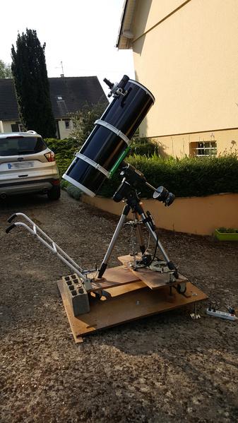 Prise en main de mon nouveau Newton SW 300 mm F4 20200410