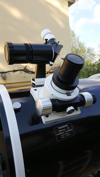 Prise en main de mon nouveau Newton SW 300 mm F4 20200414