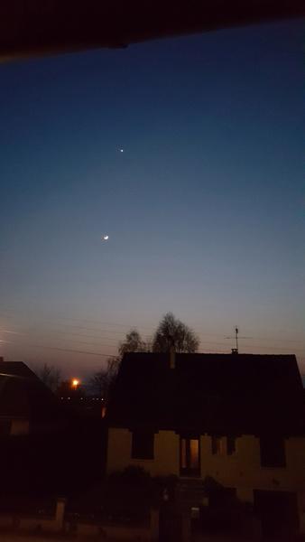 Alignement Soleil Lune Vénus le 27 Mars 2020 Soleil16