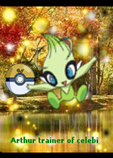 arthur trainer of celebi