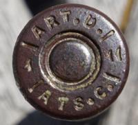 Cartouches européennes armes d'épaule 6168-66