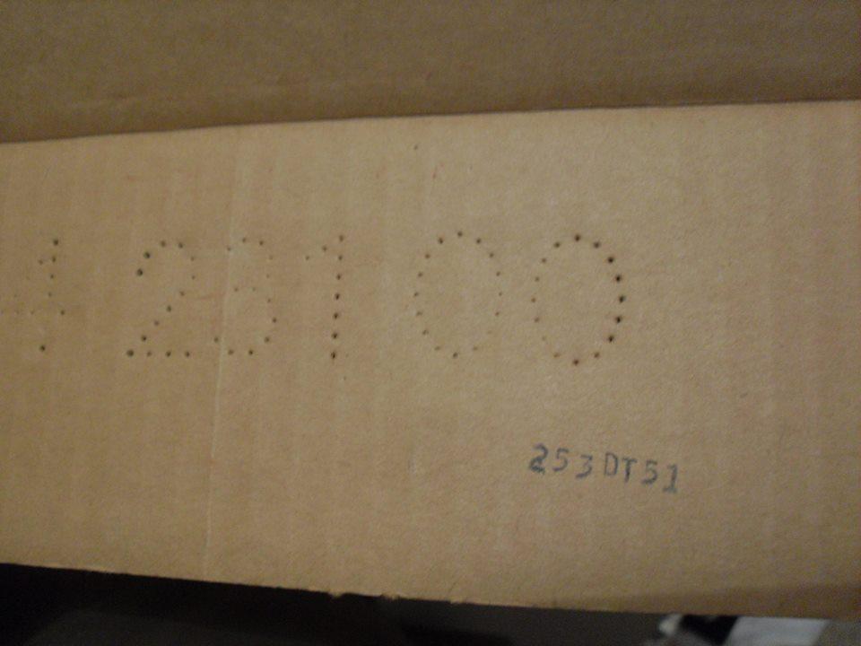 Repro Cardboard Inserts 12966710