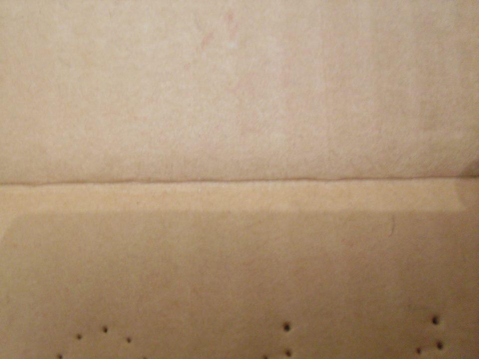 Repro Cardboard Inserts 12969310