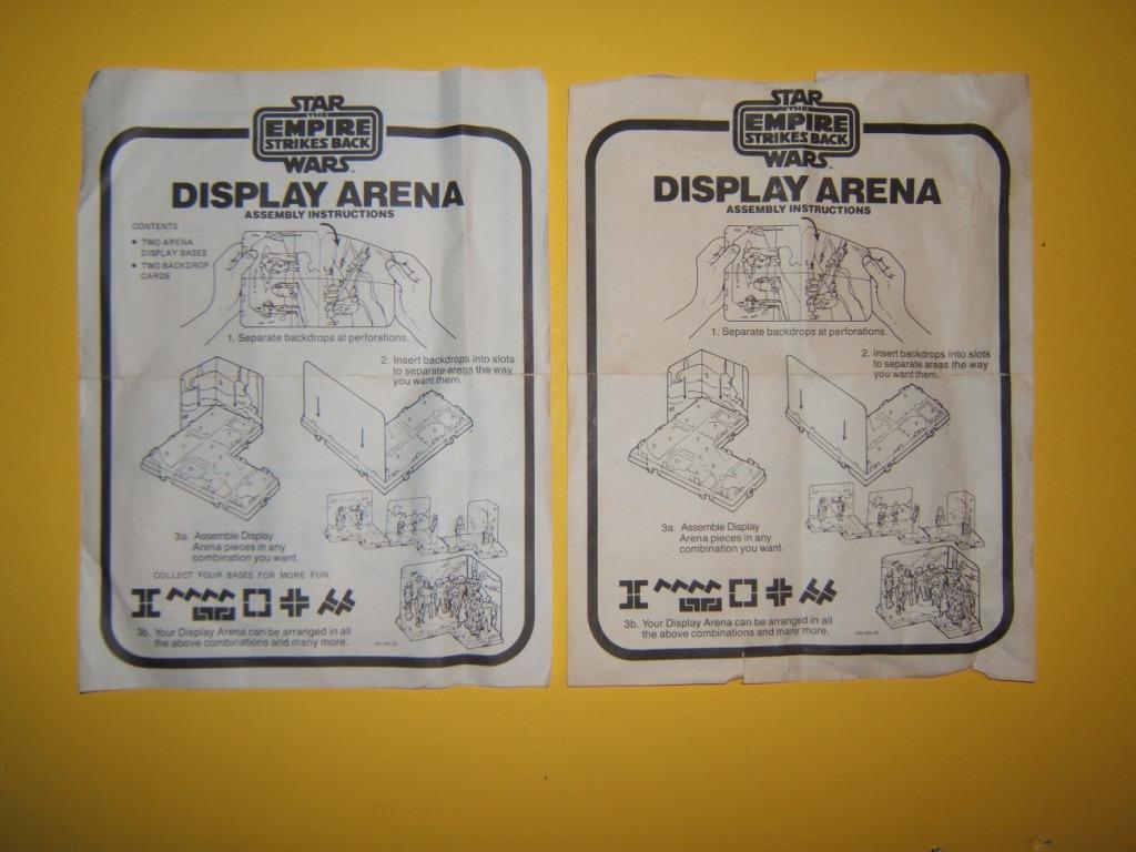 Unusual Display Arena-- ROTJ not ESB Dscf8212
