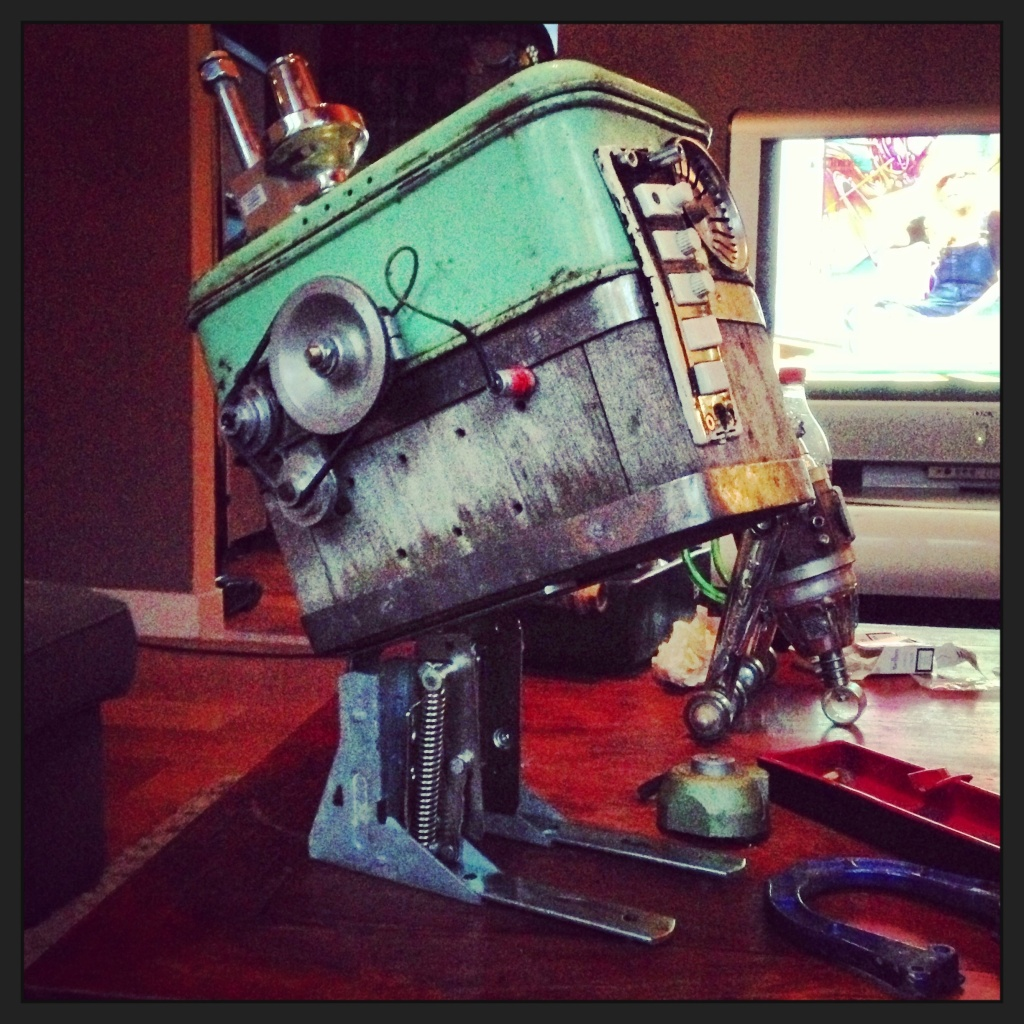 steampunk powerdroid work in progress pics Image40