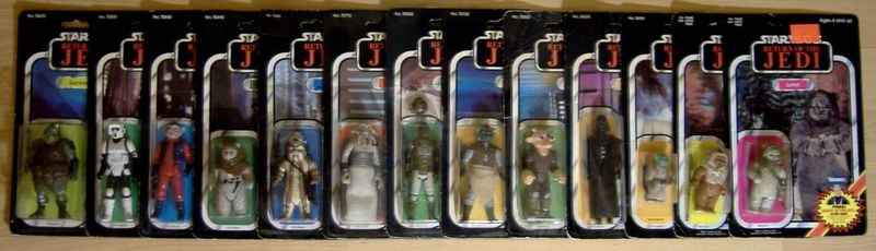 Biker Scout Short Mouth - Ledy only or Kenner also? Madein10