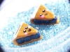 A pair of blueberry pie slices :] Shelby-Jo Jewelry