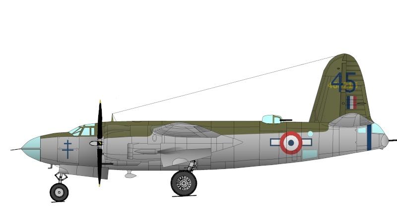 Le B-26 du MAE