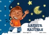 A partir de : 2 ans ISBN : 978-2-37018-203-6 Réf. Catalogue MK67 : KH88 Illustrations : Estelle C.Nectoux   Texte : Béatrice RUFFIE LACAS  Nombre de planches : 10 (dont la page de garde) Résumé : Raduban est l'enfant de la lune. Il vit dans un nuage, mais connaît les secrets qui relient les hommes au ciel. Grâce à lui, Arthur, le petit garçon qui vient de perdre son papi ne sera plus aussi triste : il a un ami.