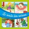 *La ronde des saisons* Les éditions Caractère/TC Média Livres Inc. Auteure : Lucie Papineau Illustratrice : Amandine Gardie ISBN 978-2-89642-859-5