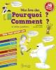 *Mon livre des Pourquoi? Comment? et autres questions !* Les éditions Grenouille Auteure : Lucie Pouget Illustratrice : Amandine Gardie ISBN 978-2-36653-150-3