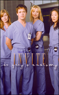 GREY'S ANATOMY e how to save a life. Invite10