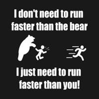 Easier Said Than Run