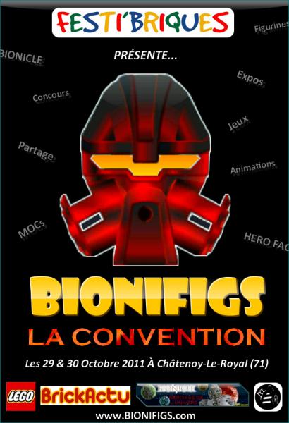 [Expo] Grande Convention des fans de BIONICLE & HERO Factory 2011 (71) Affich11