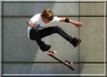 Skater of street