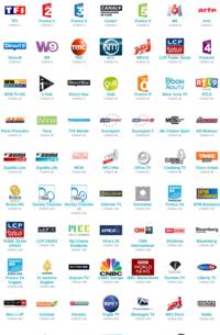 Les chaînes TV 227-98