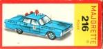les voitures ( série 200 ) 132-69