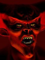 le demon rouge