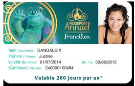 passeport - Tout savoir sur les Passeports Annuels pour Disneyland Paris Pass-f11