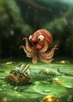 Loo the kraken