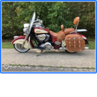 INDIAN CHIEF,  SPRINGFIELD 587-26