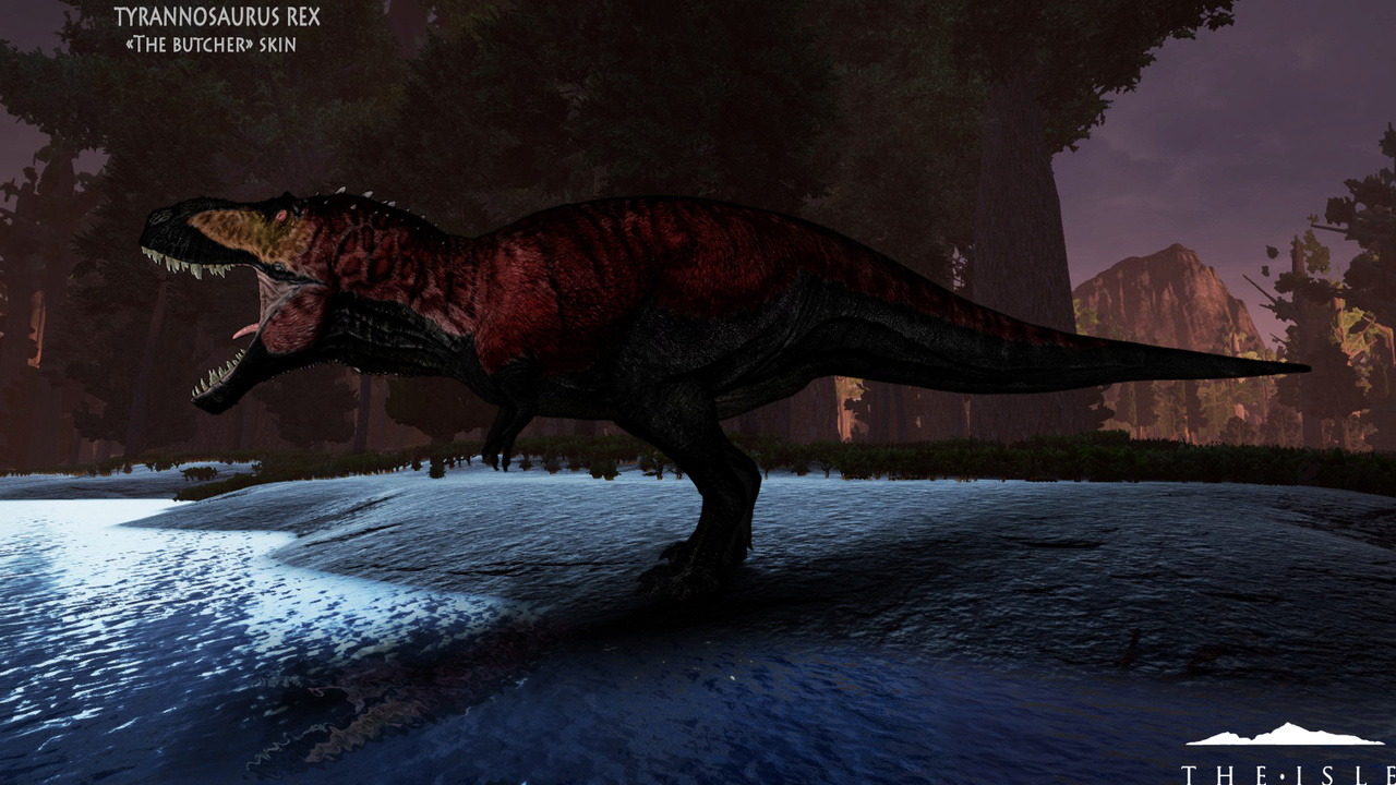 The Butcher TSL Tyrannosaurus Skin