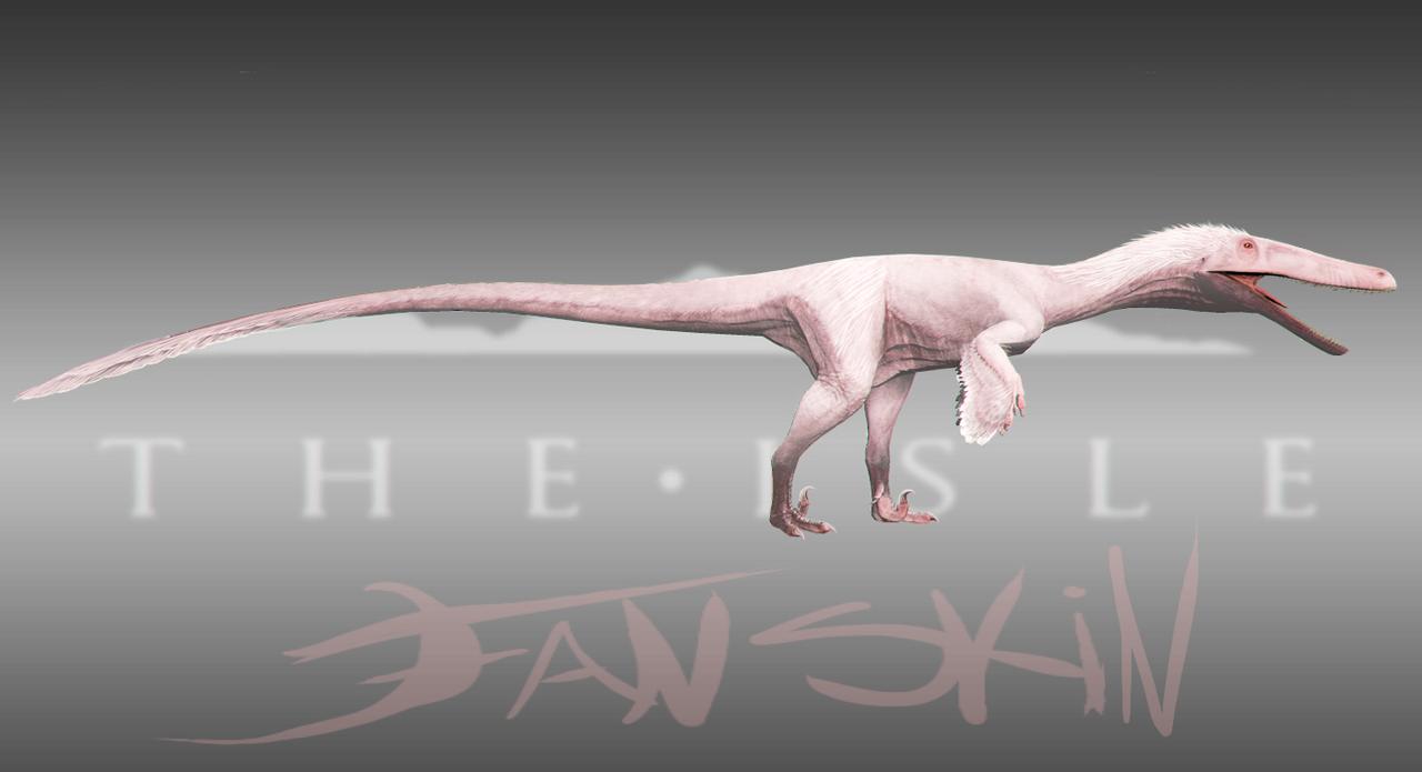 True Albino Austroraptor Skin