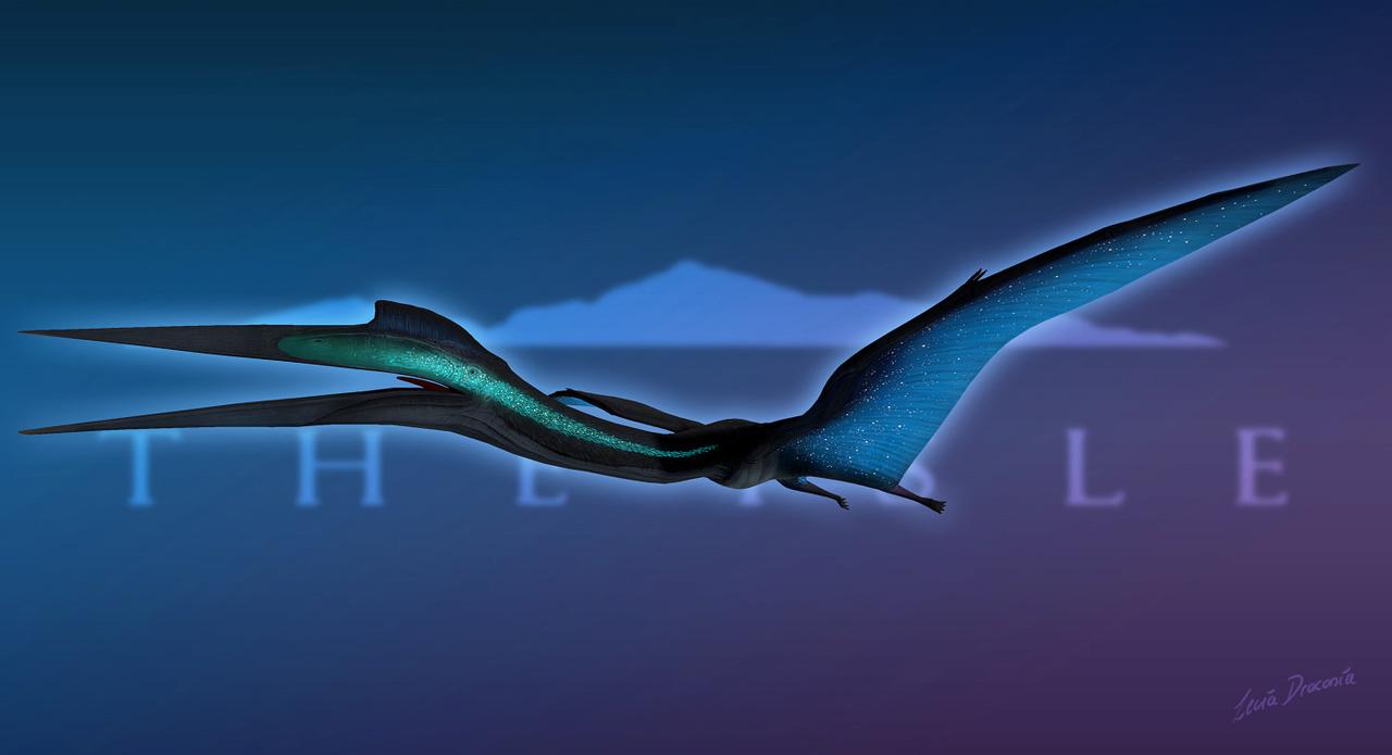 Borealis Bioluminescent Quetzalcoatlus